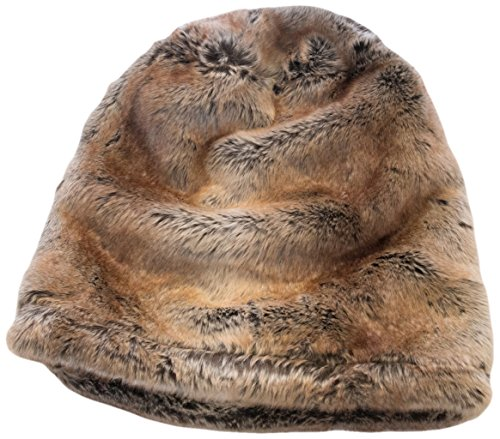 GoodDogBeds 21 by 14 by 17.5-Inch Faux Fur Cubby, Small, Brown Shell