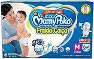 Fralda-Calça MamyPoko Tamanho M, Caixa com 84 unidades