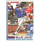 2017 Topps Archives #147 Jose Bautista Toronto Blue Jays Baseball Card