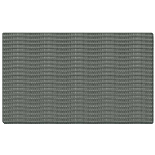 Ghent 36''x46.5'' Fabric Bulletin Board w/ Wrapped Edge - Gray - Made in the USA by Ghent
