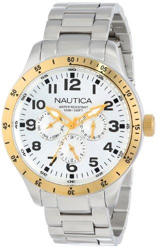 Nautica Men's N15658G BFD 101 Multi Casual Classic Watch