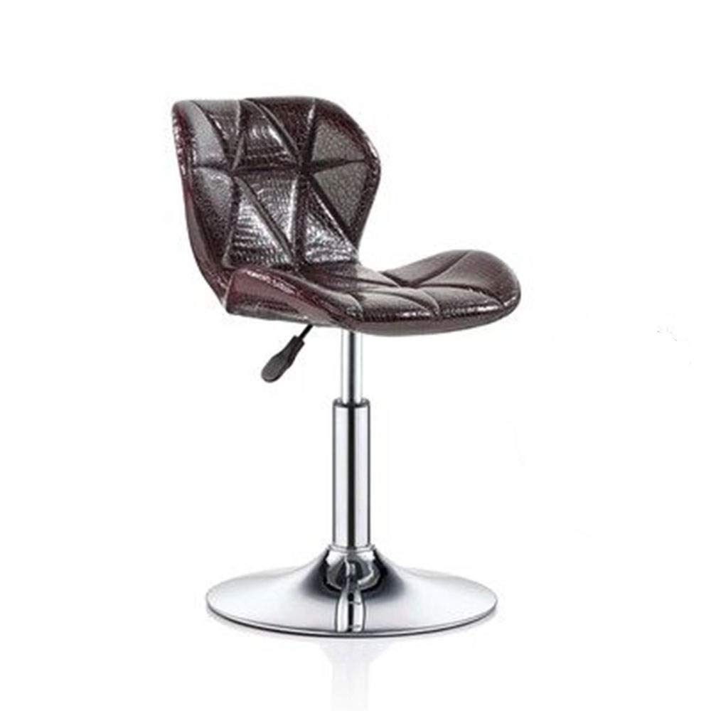 K Bar Chair Chair Lift Simple Home redate Bar Chair High Stool Reception Chair Backrest Stool 11 colors 1 Size (color   C)