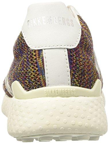 Bikkembergs BKE108722, Zapatillas Hombre Multicolor