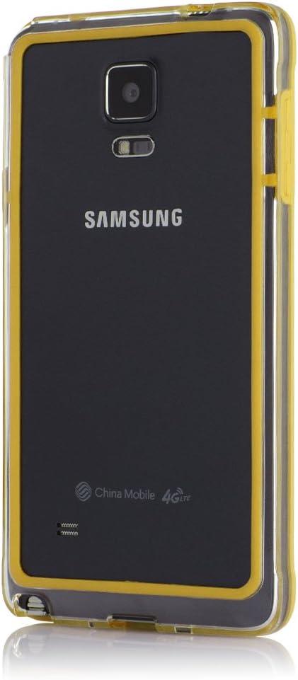Bumper Case para smartphones. amarillo Galaxy Note 4: Amazon.es ...