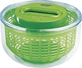 ZYLISS Easy Spin Salad Spinner, Small, Green