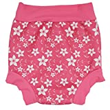 Anbaby Infants and Young Children Swim Diaper Floral L