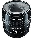 Lensbaby ソフトレンズ Velvet 56 56mm F1.6 ソニーαAマウント ブラック フルサイズ対応 860601