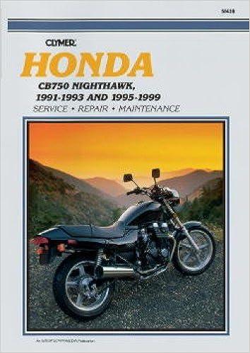 Amazing M436 Honda Cb 750 Nighthawk 1991 1993 1995 1999 Repair Ibusinesslaw Wood Chair Design Ideas Ibusinesslaworg