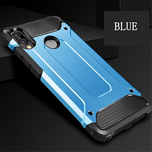 Tpu Rose Choc Huawei En Rigide Cover Etui Bumper Armour Bleu pc Case Anti Coque Or Protection Hybride huawei Lite Pour P20 1 Lite Back Housse 2 aISypx