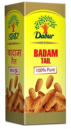 Dabur Badam Tail : 100% Pure | Sweet Almond Oil| Rich in Vitamin -E for Healthy Skin , Hair and Body – 50ml