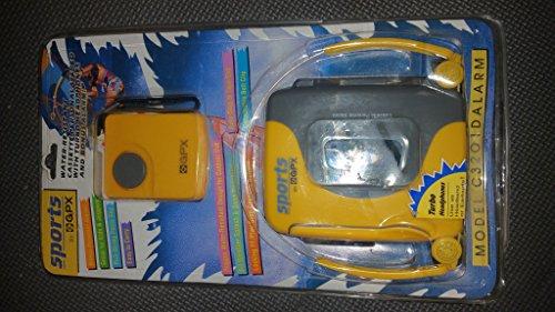 GPX Sports AM/FM Cassette Personal Stereo (Model: C3202D)
