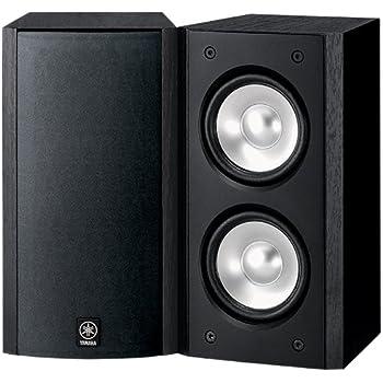 Yamaha NS B310BL Full Range Acoustic Suspension Bookshelf Speaker