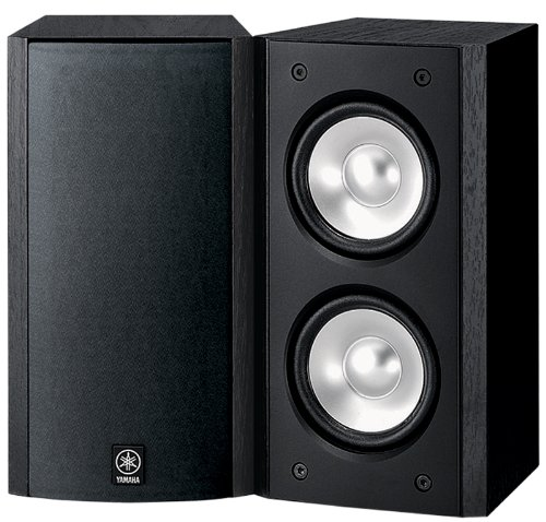 Yamaha NS-B310BL Full-Range Acoustic Suspension Bookshelf Speaker – Each (Black)