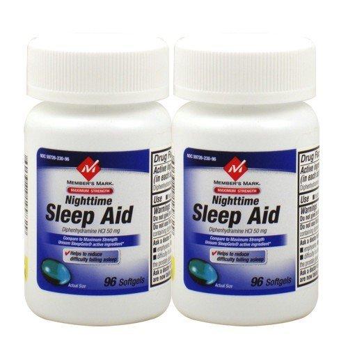 Membre maximum Mark sommeil Force Aid - 2/96 SoftGels - 192 Total