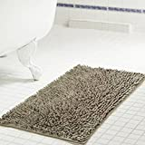 Tufted Bath Mat, Polyester Material, Taupe Color, Stylish and Modern Design, Ideal for Any Bathroom, Machine Washable, Soft and Anti-Slip Surface & E-Book Home Decor