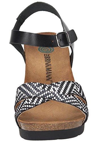 Dr. Brinkmann Damen-Sandale Schwarz 710856-1 schwarz