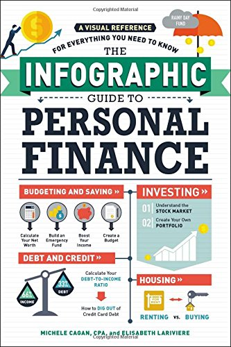 The Infographic Guide to Personal Finance: A Visual Reference for Everything You Need to Know cover