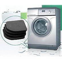 Washing Machine Mat - Washing Machine Floor Mat - 1Set Multifunctional Refrigerator Anti-vibration Pad Mat For Washing Machine Shock Pads Non-slip Mats Set - Mat Washing Machine