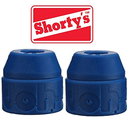 (Shorty's Blue Doh-Doh Bushings 88a soft (2 sets) For Skateboards & Longboards)