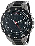 U.S. Polo Assn. Sport Men's US8170 Black and Gunmetal Ana-Digi Bracelet Watch from U.S. Polo Assn. Sport