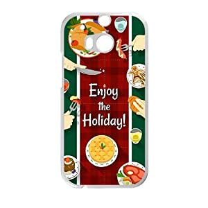 Enjoy The Holiday Creative Cell Phone Case For HTC M8