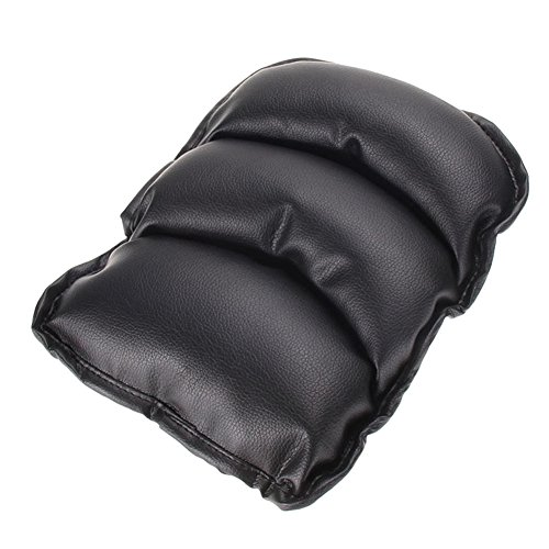 ACE Seller Car Auto Armrests Cover Vehicle Center Console Arm Rest Seat Box Pad Protective Case PU Mats Cushion Universal (Universal Center Armrest compare prices)