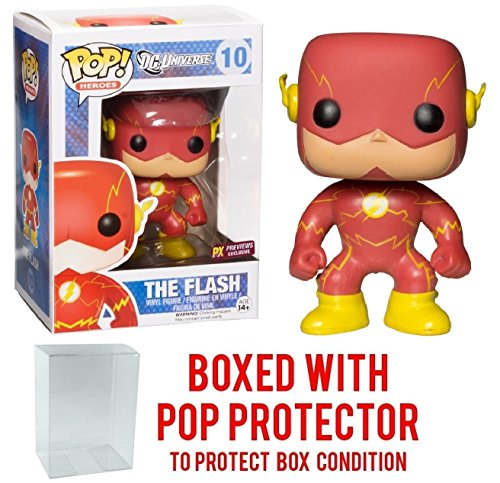 Nightwing Costume New 52 (Funko Pop! DC Heroes: New 52 The Flash PX Exclusive Vinyl Figure (Bundled with Pop BOX PROTECTOR CASE))