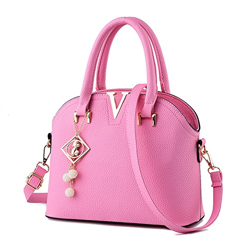 Messenger Laptop Ruiren Bag Shopping Bag Pink wH8vY1q