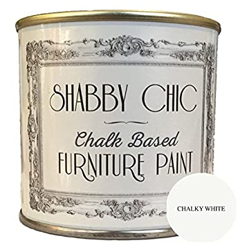 white furniture shabby chic. chalky white furniture chalk paint great for creating a shabby chic style 125ml s