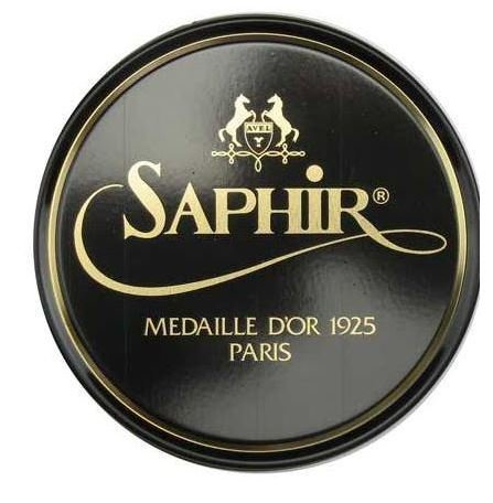 (Saphir Medaille D'or 1925 Pate De Luxe Neutral 50ml Wax Shoe Polish)