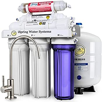 iSpring 6-Stage Reverse Osmosis Water Filter System