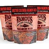 Famous British Columbia Salmon Rub - Pack of 3