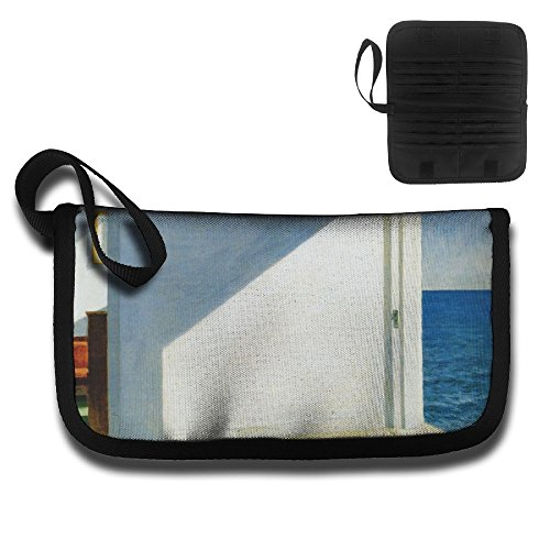 Classic Art Classical Art Edward Hopper Surreal Multi-function Travel Document Receipt And Receipt Bag Fashion Printing Card (Hopper Ticket)