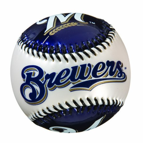 Franklin Sports MLB Milwaukee Brewers Team Softstrike Baseball ()