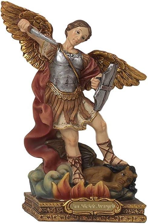 Statua Arcangelo Gabriele cm.29,8 in Resina by Paben