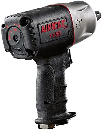 AIRCAT 1150 Killer Torque 1 2-Inch Impact Wrench, Black, Medium