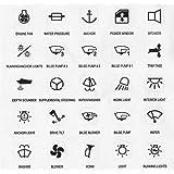 Elso 979060 Symbolaufkleber Symbole Klingel Licht Türöffner