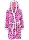 Emme Jordan Juniors I Love Sleep Pink Hooded Bathrobe OneSize