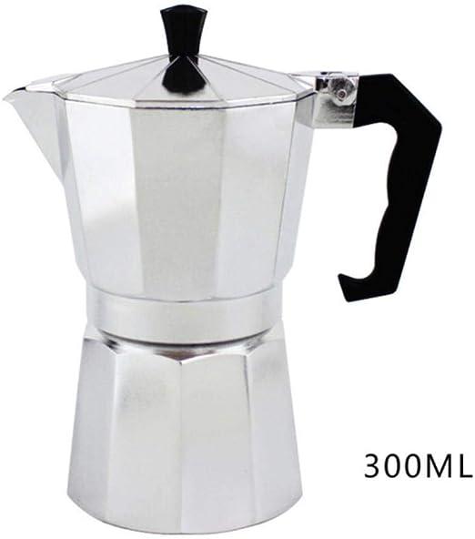 Homie Cafetera eléctrica portátil Espresso de Acero Inoxidable ...