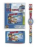 Original Paw Patrol Digital Watch+Wallet,Official Licensed,Children Gift Set