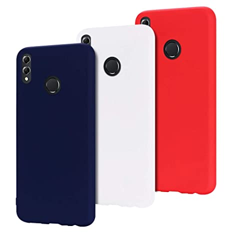 incontrare d6975 4df97 MoEvn 3X Custodia Huawei Honor View 10 Lite Cover, Ultra Slim Morbido in  TPU Silicone Posteriore Case per Honor 8X / Honor View 10 Lite Smartphone  ...