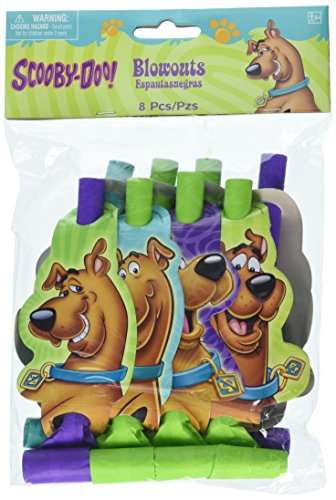 amscan Blowouts | Scooby-Doo Collection | Party Accessory -
