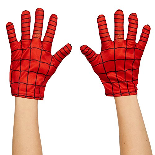 Rubie's Marvel, Ultimate Spider-Man Child Gloves (Iron Man Mask And Gloves compare prices)