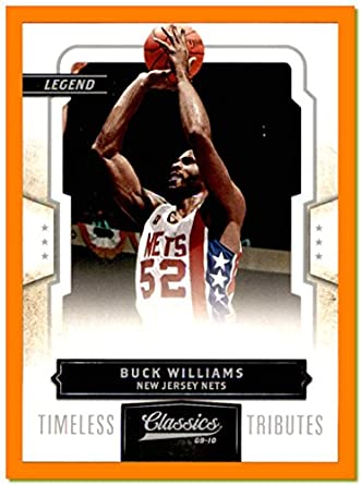 cfce54a1c722 2009-10 Classics Timeless Tributes Silver  116 Buck Williams NEW JERSEY  NETS MARYLAND TERRAPINS SERIAL  94 100 at Amazon s Sports Collectibles Store
