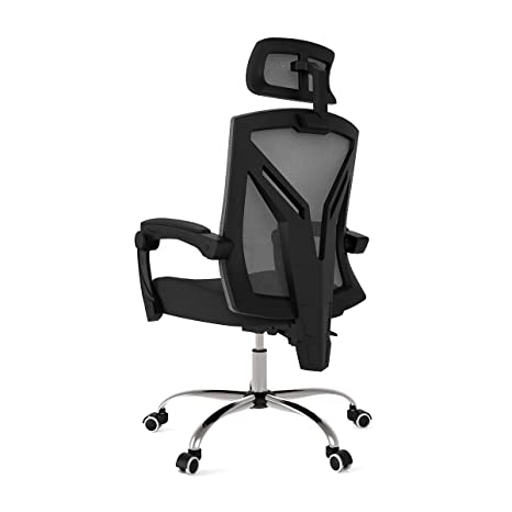 Excellent Hbada Ergonomic Office Chair Modern High Back Desk Chair Reclining Computer Chair With Lumbar Support Adjustable Seat Cushion Headrest Ncnpc Chair Design For Home Ncnpcorg