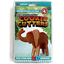 SUCK UK 3D Safari Animal Cookie Cutters