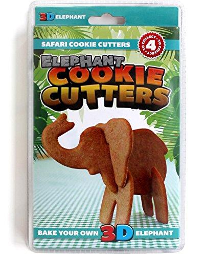 SUCK UK 3D Safari Cookie Cutters by Suck UK