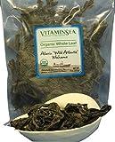 #10: Organic Wakame Whole Leaf Alaria - Seaweed 4 oz bag - USDA Certified and Kosher Hand Harvested from the Atlantic Ocean Maine Coast Vegan Raw and Wild Sea Vegetables VitaminSea (Wakame WL, 4 oz)
