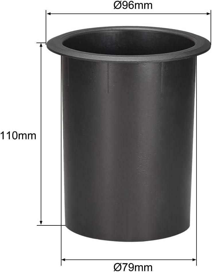 uxcell 79mm x 110mm Speaker Port Tube Subwoofer Bass Reflex Tube Bass Woofer Box 2pcs