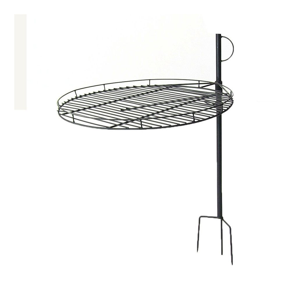 Sunnydaze Height Adjustable Fire Pit Cooking Grate, 24 Inch Diameter Sunnydaze Decor 1506-ACG24